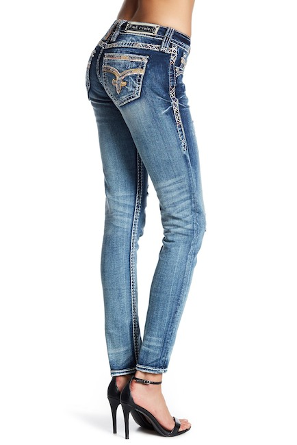 rock revival jeans back